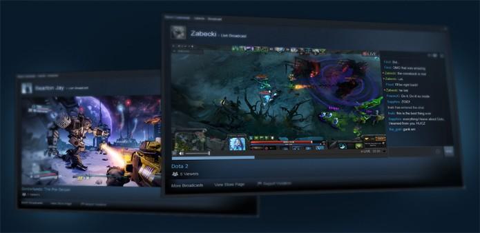 Steam agora tem transmissão ao vivo de jogos (Foto: Divulgação)