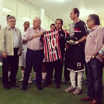 Rogério Ceni (Foto: site oficial / saopaulofc.net)