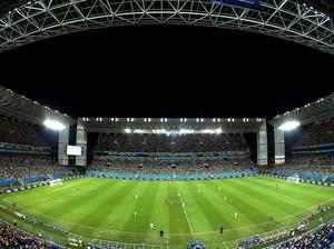 estádio Arena Pantanal jogo Nigéria x Bósnia (Foto: Getty Images)