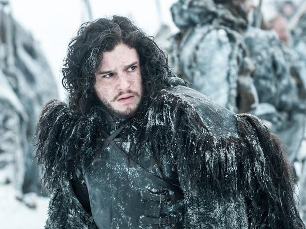 """O ator Kit Harington interpreta Jon Snow em cena de """"Game of Thrones"""" (Foto: Divulgação)"""
