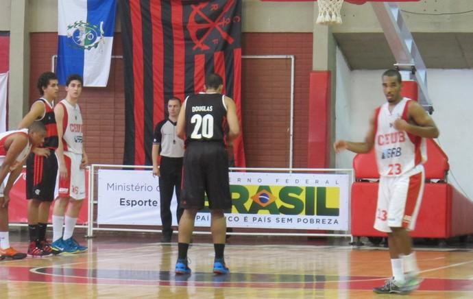 Basquete - Flamengo x Brasilia (Foto: Marcello Pires)