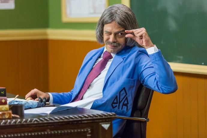 Professor Raimundo (Foto: Artur Meninea/Gshow)