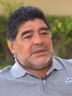 Maradona entrevista CNN (Foto: Reprodução)