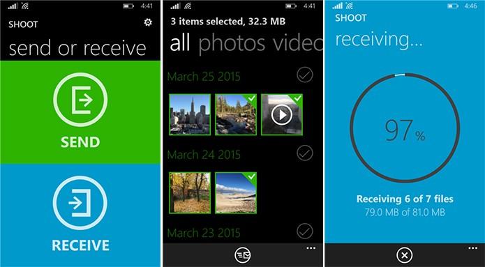 BitTorrentShot é um aplicativo para Windows Phone que facilita compartilhamento entre aparelhos (Foto: Divulgação/Windows Phone Store)