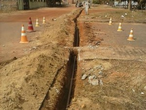 Expansão na rede de distribuição de água aumentou (Foto: Divulgação/ Secom)
