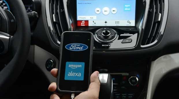 Carro da Ford vai controlar dispositivos inteligentes (Foto: Divulgação)