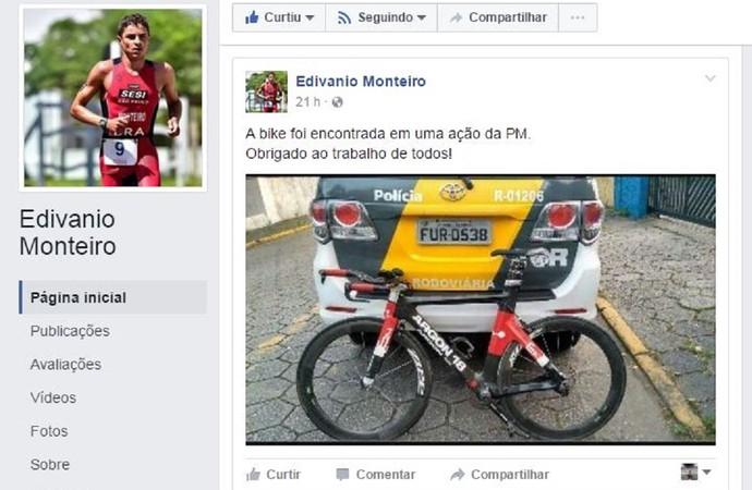 edivanio monteiro (Foto: Reprodução/Facebook)