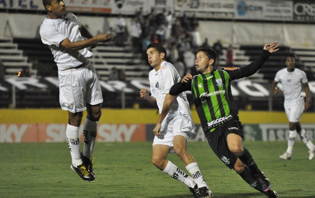 Bragantino x América-MG (Foto: Carlos Cruz / Assessoria AFC)