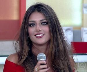 Anaju fala sobre doença (Foto: TV Globo)