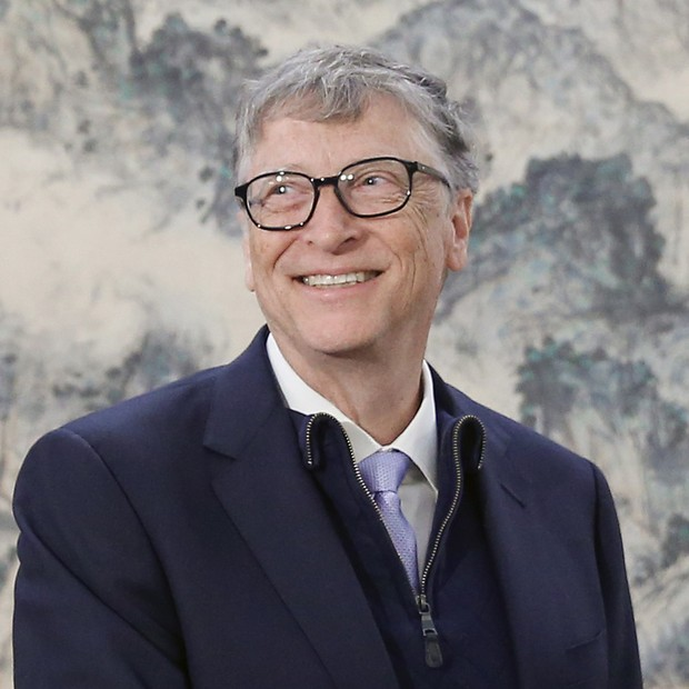 O fundador da Microsoft, o bilionário Bill Gates em visita à China (Foto: Thomas Peter-Pool/Getty Images)
