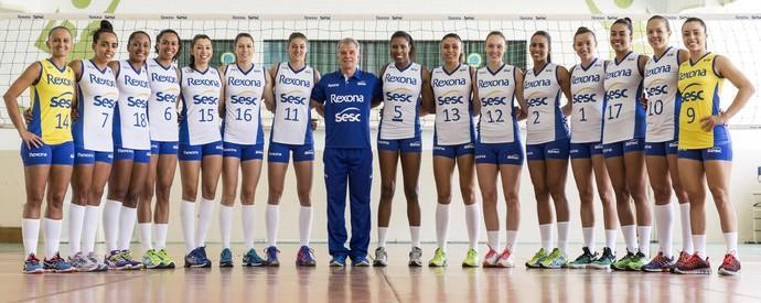 Jogadoras Rio de Janeiro  (Foto: Divulgação)