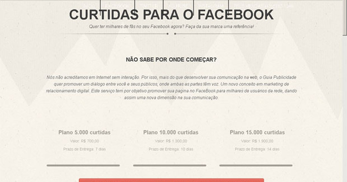 Sites vendem curtidas, seguidores e namorados 'falsos' nas redes sociais