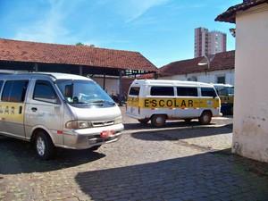 Prefeitura realiza vistoria do transporte escolar em Ituiutaba (Foto: Prefeitura de Ituiutaba/Divulgação)