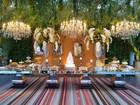 Veja decoração do casamento de Antônia Fontenelle e Jonathan Costa