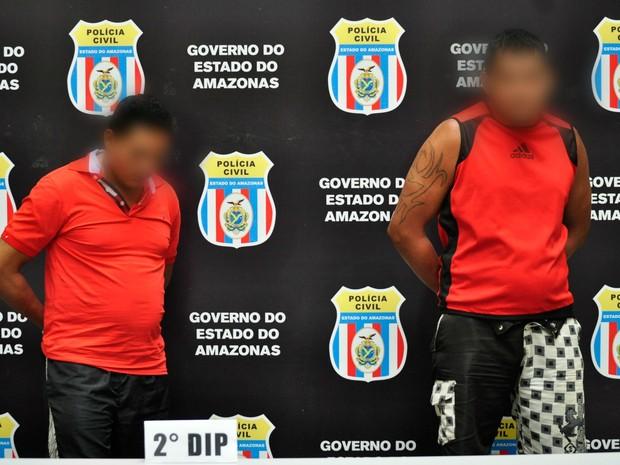 Suspeitos foram apresentados nesta terça (23), na Delegacia Geral da Polícia Civil  (Foto: Divulgação/ Polícia Civil)