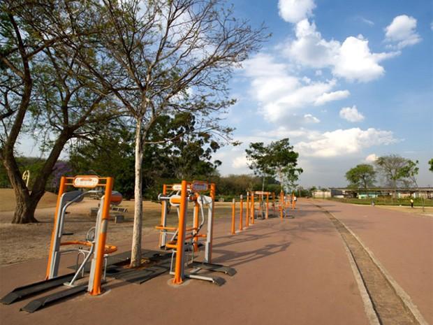 No lugar do Carandiru foi erguido o Parque da Juventude, que nada lembra o passado carcerário (Foto: Flavio Moraes/G1)