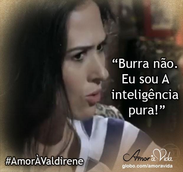 A inteligência pura (Foto: Amor à Vida / TV Globo)
