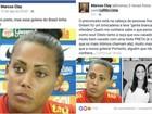 Após comentário racista, membro do CFA se retrata com goleira da seleção