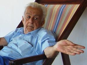 Manoel Dantas é primo de Ariano Suassuna (Foto: Taiguara Rangel/G1)