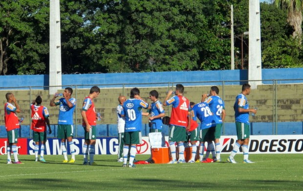 Palmeiras treino Paraguai (Foto: Marcelo Prado)