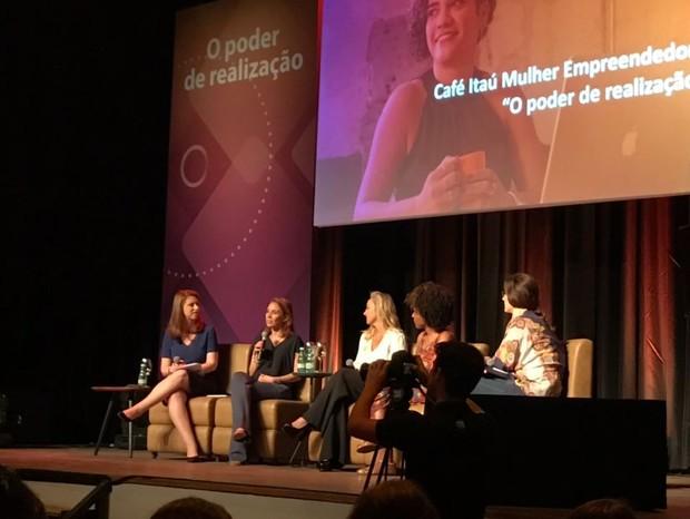 Evento reúne líderes femininas, que inspiram plateia com suas histórias de sucesso (Foto: Cristiane Senna)