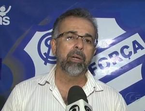Carlos Alberto, vice de futebol do CSA (Foto: Reprodução/TV Gazeta)