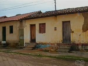 As construções de Natividade são todas do século XVIII (Foto: Reprodução/TV Anhanguera)