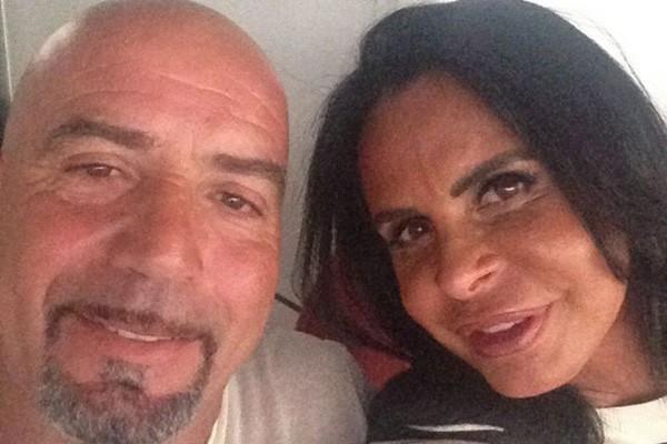 Carlos Marques e Gretchen (Foto: Reprodução Instagram)