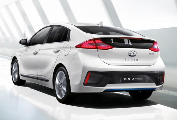 Hyundai aposta no Ioniq para concorrer com o Toyota Prius (Foto: Divulgação)