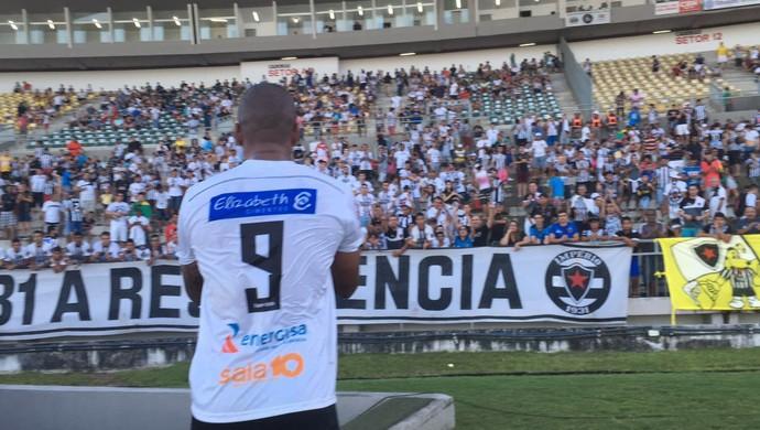 Rodrigo Silva, Botafogo-PB (Foto: Expedito Madruga / GloboEsporte.com)