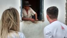 'Meu verdadeiro natal é aqui', diz voluntário da caravana Natal Feliz (Lamonier Araújo/ Inter TV Cabugi)