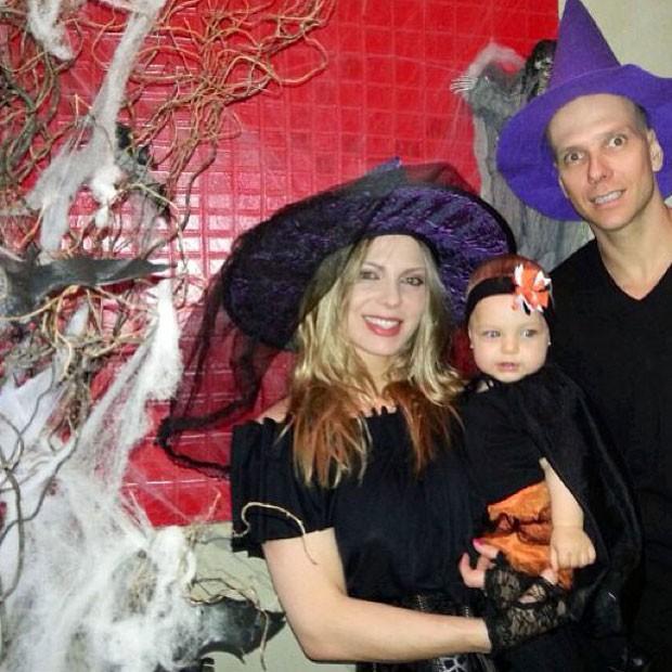 Sheila Mello na mais recente festa de Halloween da família (Foto: Reprodução/Instagram)