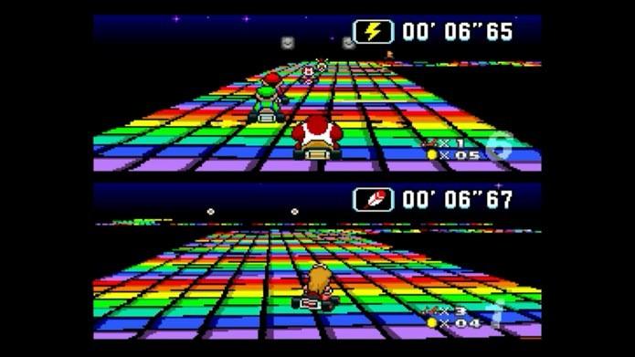 Super Mario Kart(Foto: Reprodução/Murilo Molina)