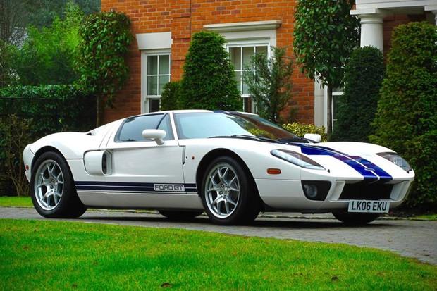 Ford GT 2005 pertenceu ao campeão de Fórmula 1 Jenson Button (Foto: Divulgação)