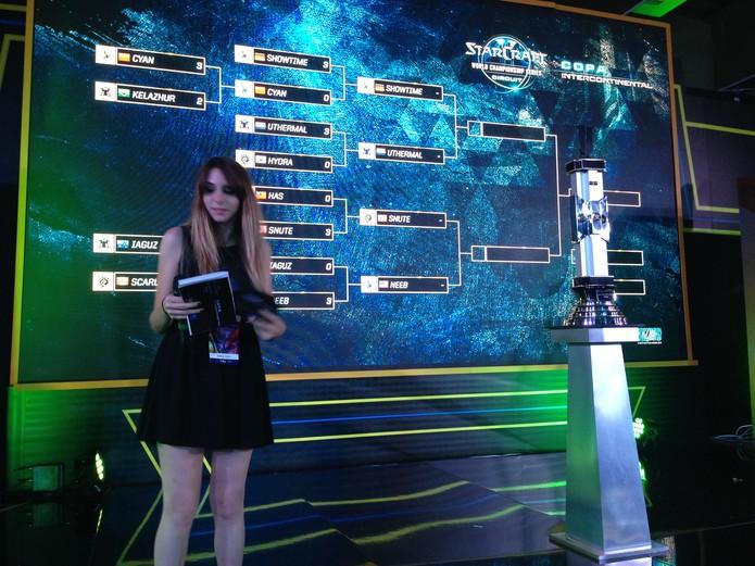 Parte da tabela da Copa Intercontinental de StarCraft 2 (Foto: Reprodução/Felipe Vinha)