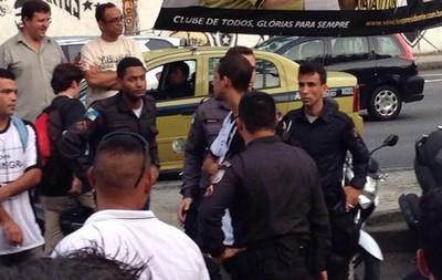 Eleição Botafogo polícia (Foto: Sofia Miranda)