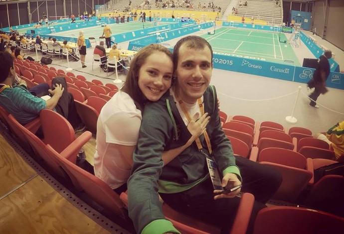 Daniel Paiola; Angélia; Jogos Pan-Americanos (Foto: Reprodução)