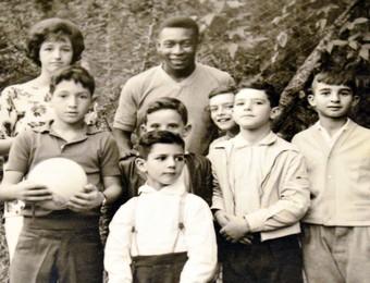 Seleção Brasileira 1962 - Pelé - Campos do Jordão (Foto: Edson Reis/Arquivo Pessoal)