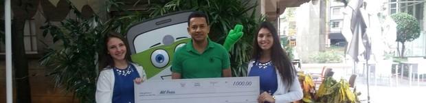 Aplicativo dá prêmios semanais de até R$ 25 mil; saiba como concorrer  (editar título)