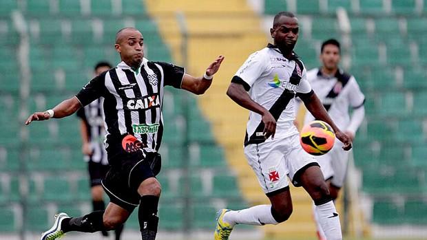 sandro silva vasco Figueirense amistoso (Foto: Marcelo Sadio / Vasco.com.br)