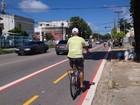 Zona Oeste do Recife ganha mais uma ciclofaixa permanente