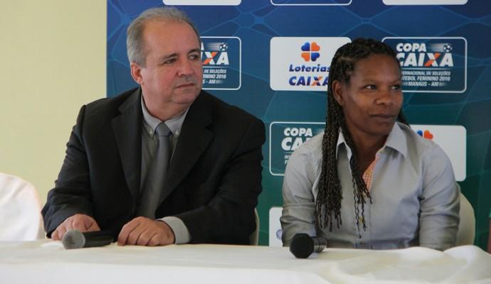 Vadão e Formiga Manaus (Foto: Matheus Castro)
