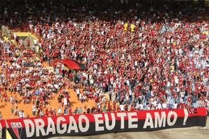 Torcida do Atlético-GO no Serra Dourada (Foto: Joelton Godoy / Atlético-GO)