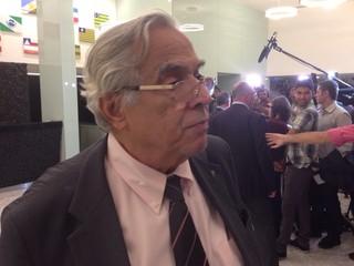 Eurico Miranda encontro CBF (Foto: Vicente Seda / GloboEsporte.com)