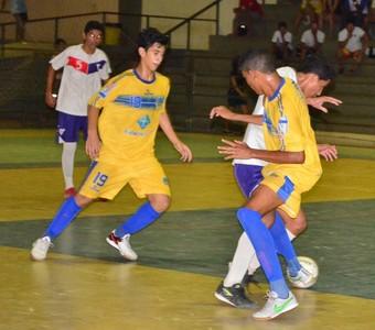 Taça Roraima de Futsal Sub-17, Constelação e Vivaz (Foto: Nailson Wapichana)