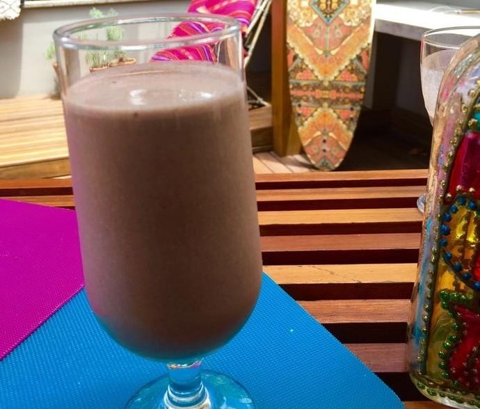 Milk Shake Mistura com Rodaika (Foto: Rodaika / RBS TV)