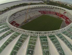 Membrana Beira-Rio Inter (Foto: Tiago Geremia/Grupo Gigante Para Sempre)