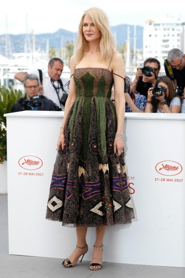 """Nicole Kidman no photo call de """"The Killing of a Sacred Deer"""", nesta segunda-feira (Foto: Getty Images)"""
