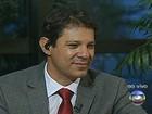 Haddad diz que liberar terrenos para creches e hospitais será primeiro ato
