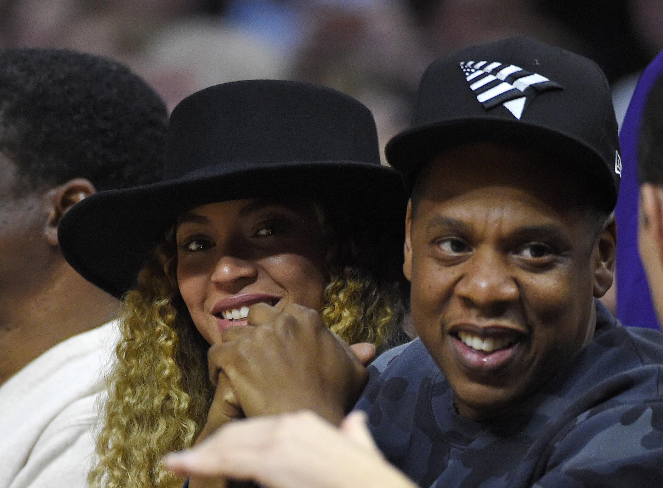Jay-Z e Beyonc: troca de provocaes nas msicas? (Foto: AP)